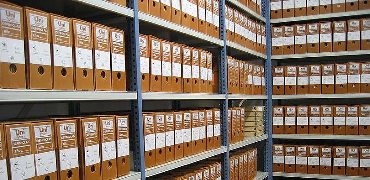 מסמכים בארכיון
