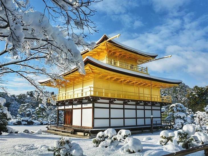 קיוטו בשלג
