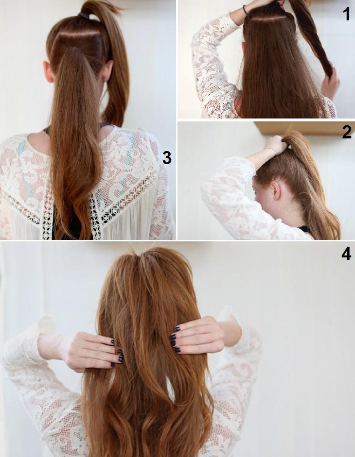 טיפים לעיצוב וטיפוח השיער: שלבי הקניית מראה ארוך לקוקו