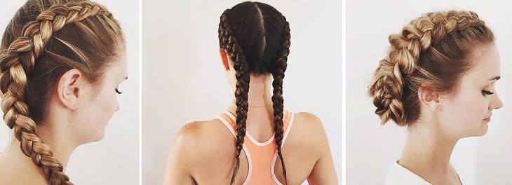 טיפים לעיצוב וטיפוח השיער: צמות בתצורות שונות