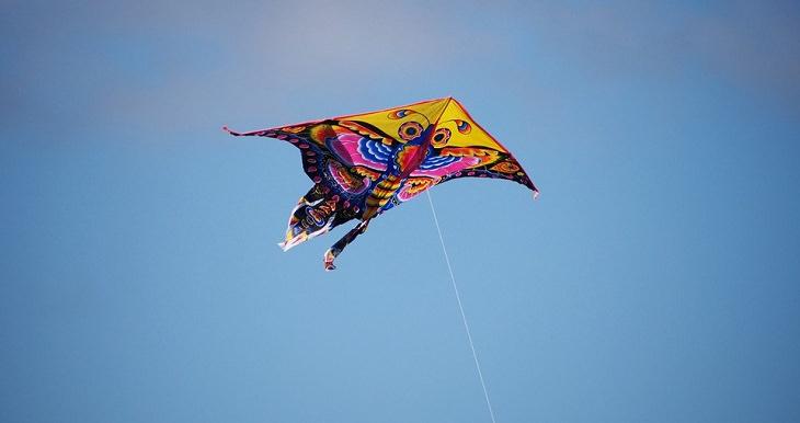 משל העפיפון - עפיפון בשמיים