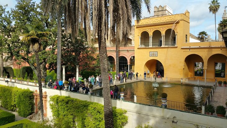 אטרקציות מומלצות בסביליה: מצודת סביליה