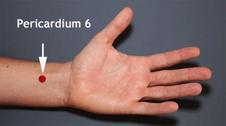 נקודות לחיצה לניקוי הגוף מרעלים: שער פנימי (P-6)