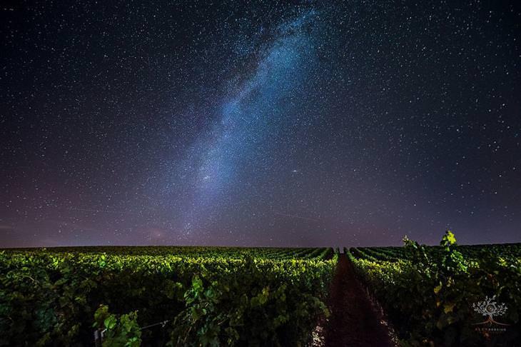 תמונות מדהימות של טרנסילבניה: שביל החלב בשמי הלילה