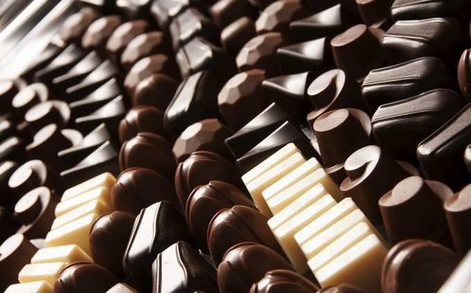 שוקולדים מסוגים שונים