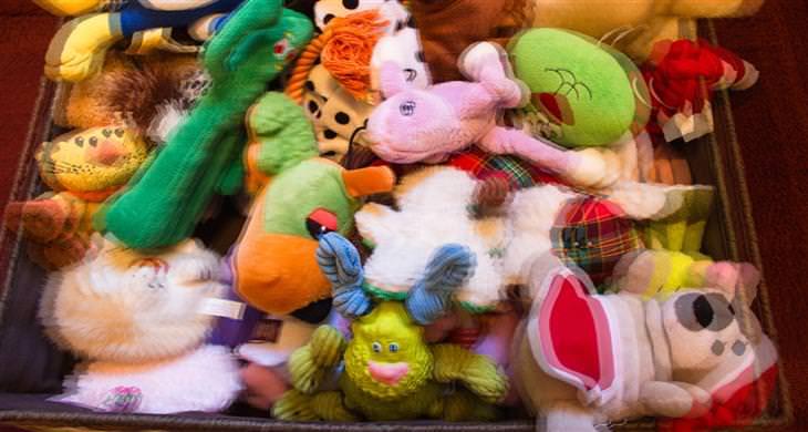 סימנים לדלקת קרום המוח אצל ילדים: צעצועים של ילדים בראייה מטושטשת