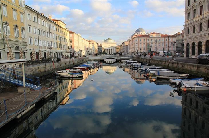 ערים פחות מוכרות אך מומלצות באיטליה: טריאסטה