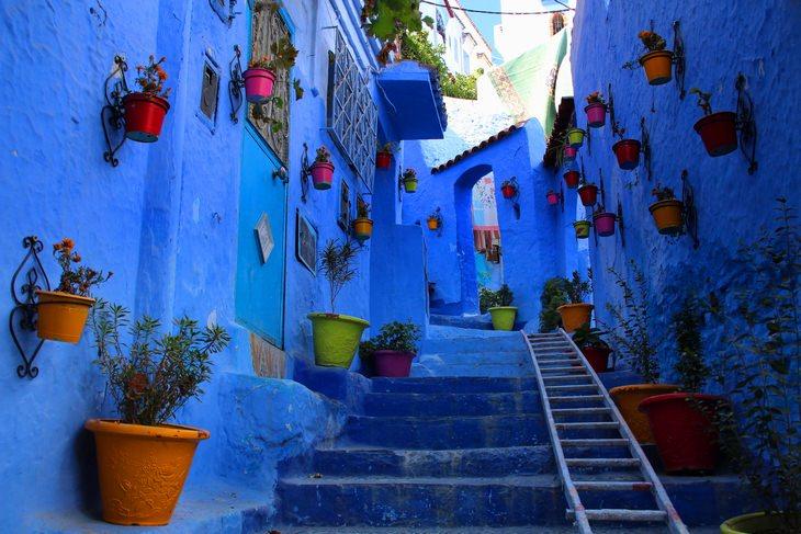 הרחובות היפים ביותר בעולם: סמטאות העיר שפשאוון