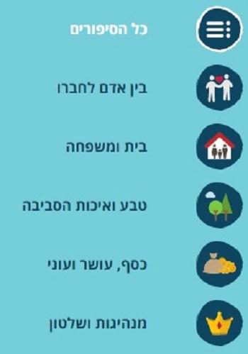 הורואת שימוש באתר ספר האגדה לילדים