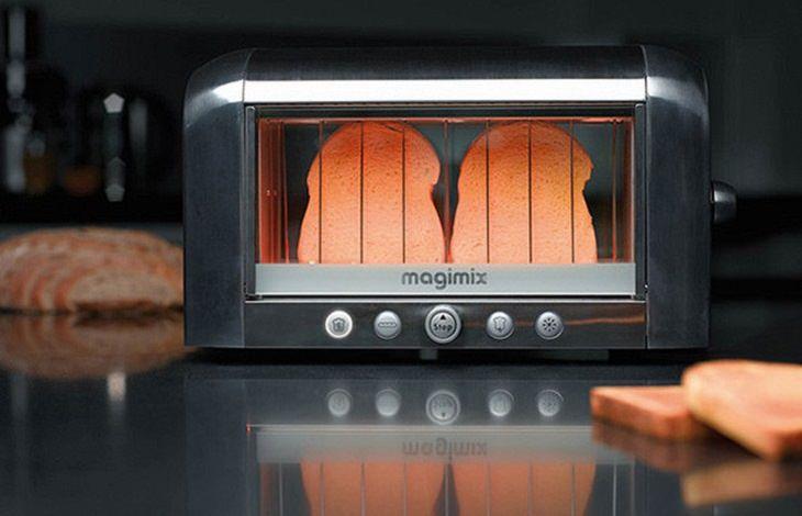 מטבח עתידני: הטוסטר השקוף