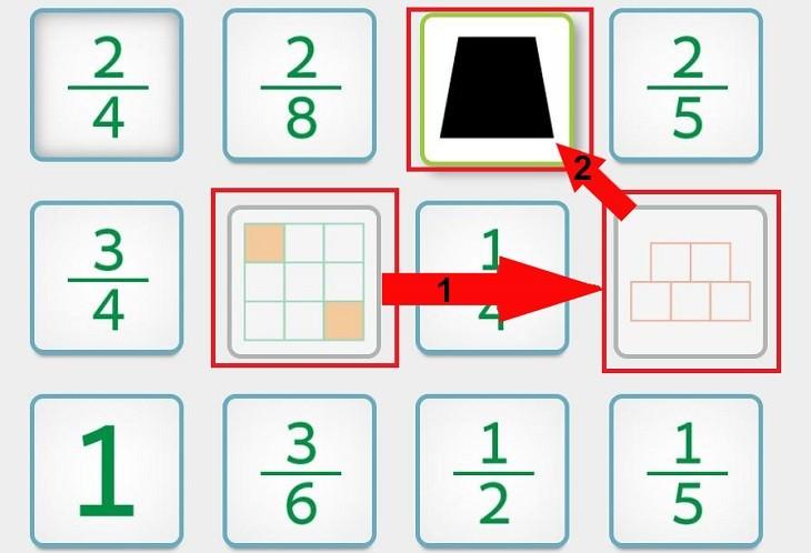 משחקי חשבון לילדים של משרד החינוך: אפס חמישיות