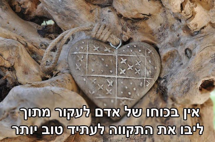 ציטוטים של זאב ז'בוטינסקי: אין בכוחו של אדם לעקור מתוך ליבו את התקווה לעתיד טוב יותר