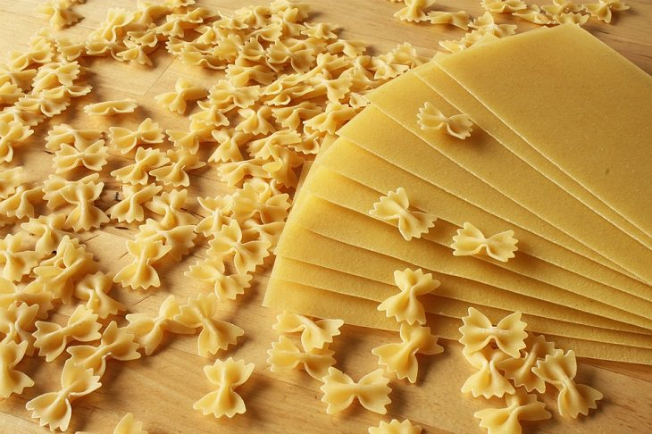 טיפים למטבח: דפי לזניה ופסטה בצורת פרפרים