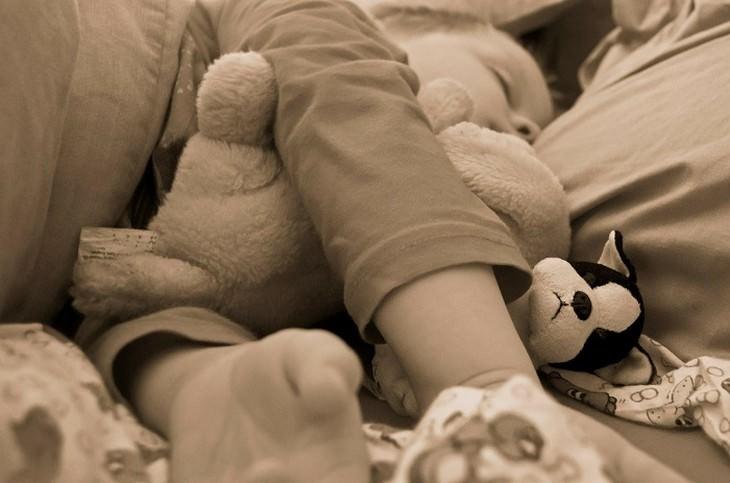 חיזוק מערכת חיסונית אצל ילדים: ילד ישן