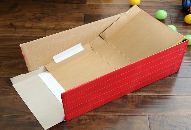 יצירות מיוחדות לילדים: רמפה מקופסת קרטון