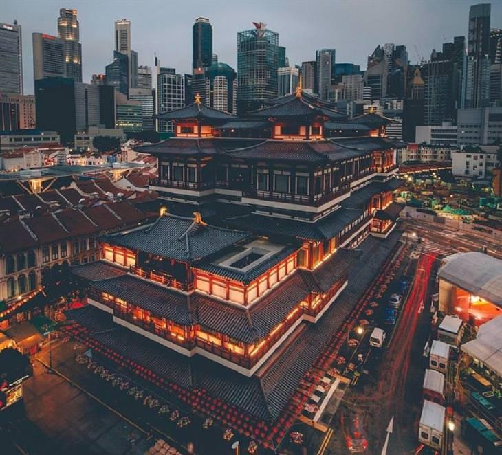 מקדש השן של בודהה בסינגפור