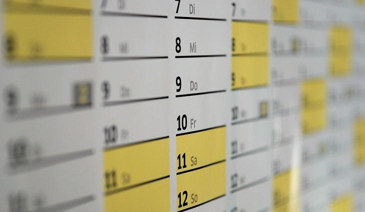 תכנון יום בריא: לוח זמנים שבועי