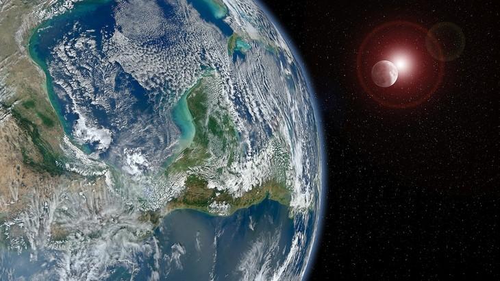 כדור הארץ כפי שהוא נראה מהחלל