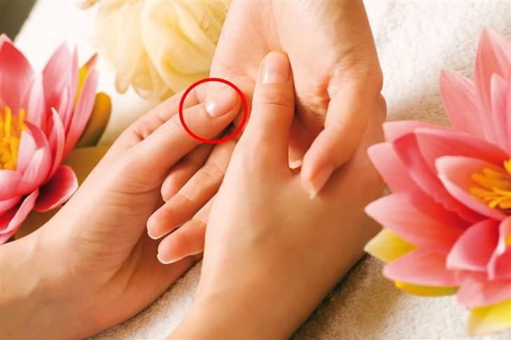 נקודות לחיצה לטיפול בבעיות עור: רפלקסולוגיה לכיס המרה