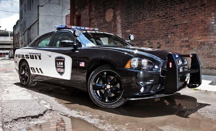 דודג' Charger Police Interceptor