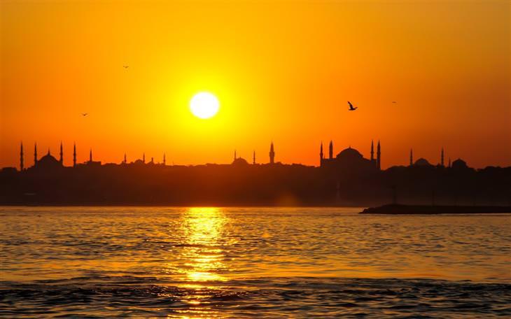 שקיעה באיסטנבול