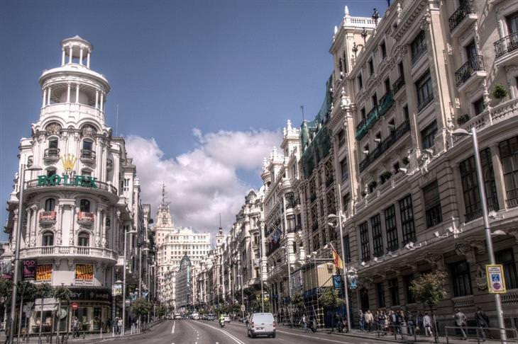 אתרים מומלצים במדריד: גראן ויה