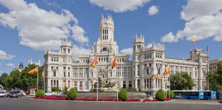 אתרים מומלצים במדריד: פלאסה דה סיבלס
