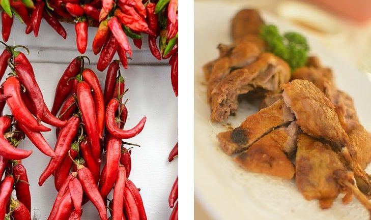 שילובי מזון לשמירה על המשקל: פלפלים אדומים ועוף