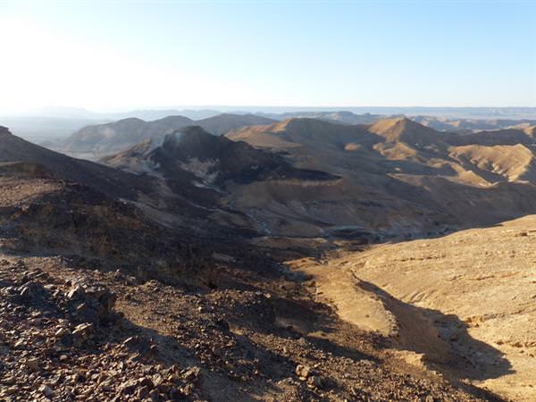 מסלול למיטבי לכת: הר הנגב התיכון