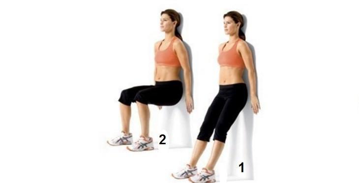 תרגילים לחיטוב וחיזוק הגב: תרגיל לחיזוק עצם הזנב