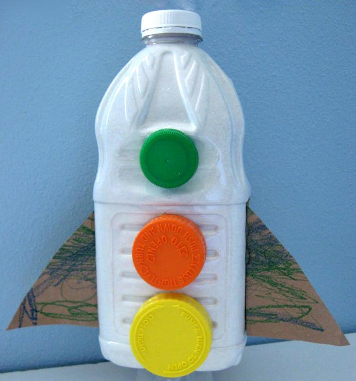 חללית מבקבוק פלסטיק
