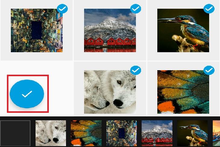 מדריך לשימוש באפליקציית Quik: בחירת תמונות לסרטון - אנדרואיד