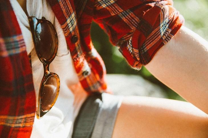 דרכי הגנה מפני סרטן העור: עור חשוף חלקית