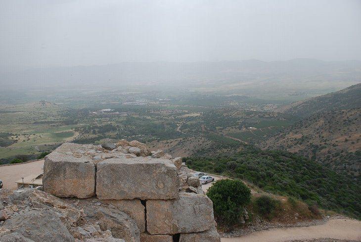טיולים בצפון הארץ: תצפית ממצודת נמרוד