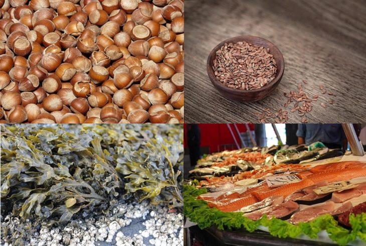 מניעת בעיות בעור על ידי תזונה: אגוזים, זרעי פשתן, אצות ודגים
