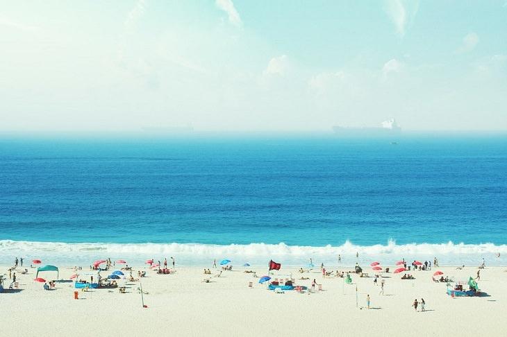 בדיחה: חוף ים