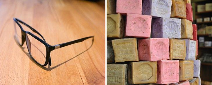 טיפים ועצות טיפוח לנשים: משקפי ראייה וסבונים מוצקים