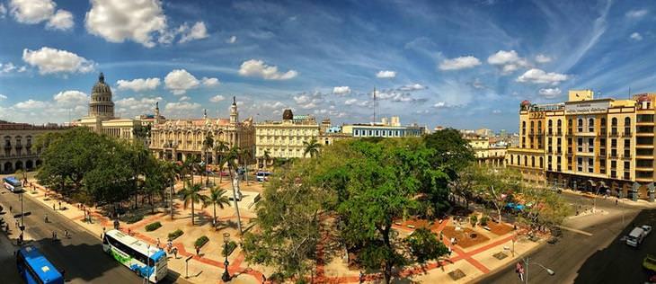 אתרי תיירות מומלצים בקובה: צילום עילי של הוואנה