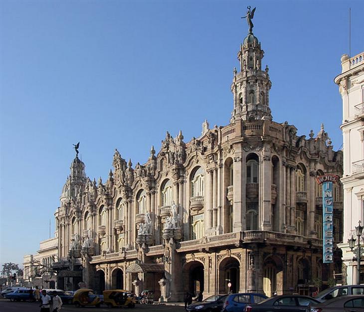 אתרי תיירות מומלצים בקובה: התיאטרון של הוואנה