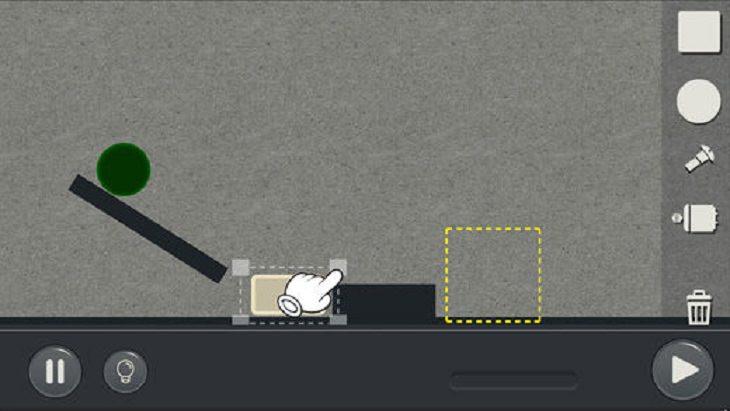 אפליקציות משחקים מומלצות: צילומי מסך מתוך Machinery - Physics Puzzle