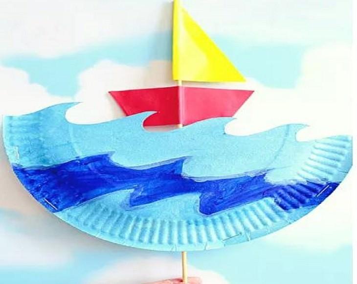 יצירות תלת ממדיות שאפשר להכין בבית: סירה תלת ממדית