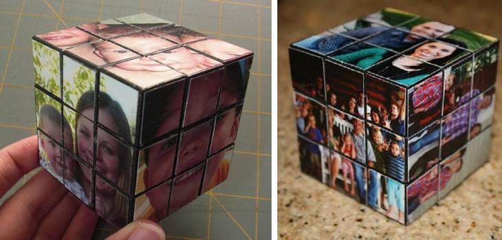 יצירות תלת ממדיות שאפשר להכין בבית: קוביות הונגריות עם תמונות משפחתיות