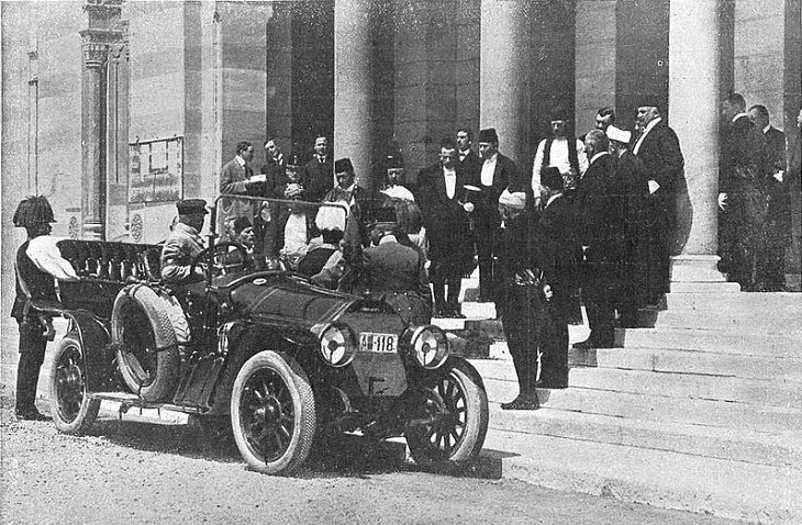 צירופי מקרים בהיסטוריה: רכבו של הארכידוכס פרנץ פרדיננד