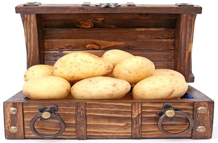 קליפות פירות וירקות שכדאי לצרוך: תפוחי אדמה בקליפתם