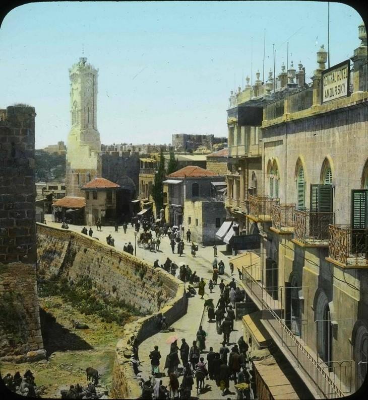 תמונות היסטוריות של ירושלים: שער יפו