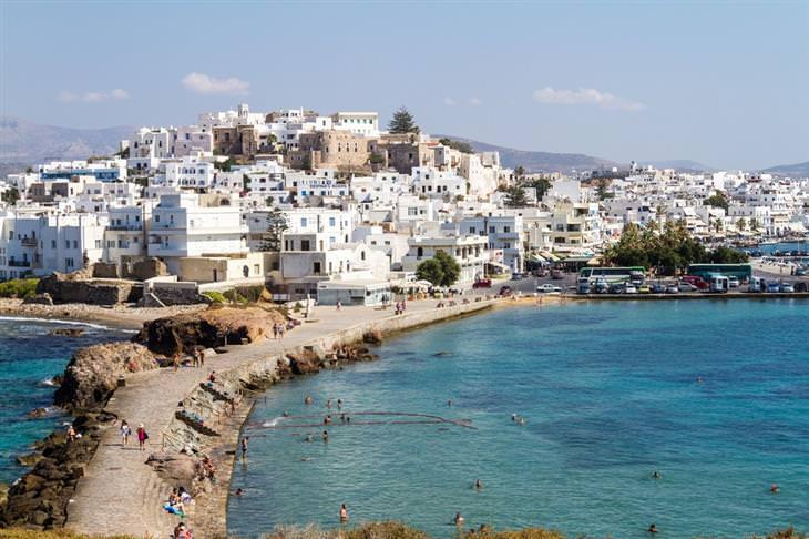 יעדים מומלצים ופחות מוכרים ביוון: האי נקסוס