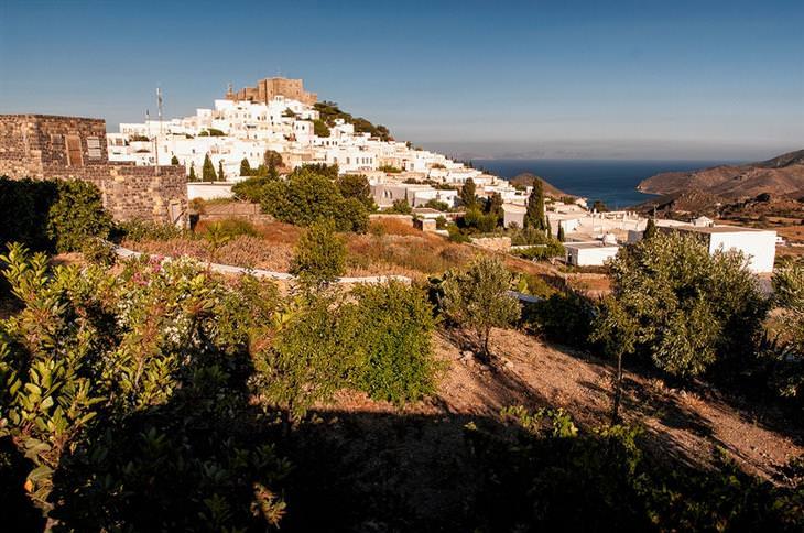 יעדים מומלצים ופחות מוכרים ביוון: פטמוס