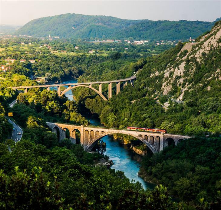 סלובניה: גשר סולקן