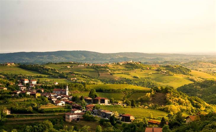 סלובניה: גבעות ברדה