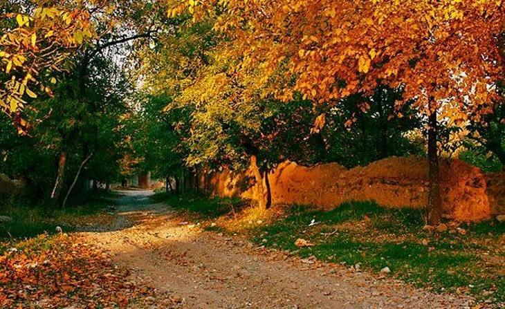 עונת הסתיו במקומות שונים בעולם: מראנד, מזרח אזרבייג'ן